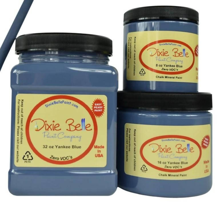 Dixie Belle Paint YANKEE BLUE 8 oz