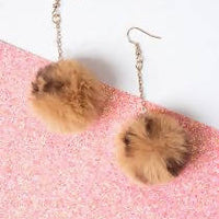 Live your Passion Pom Pom Earring