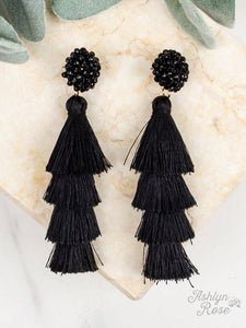 Queen of the Tassel Earrings