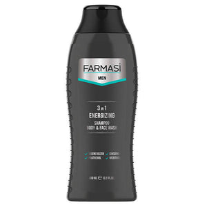 Men's 3 in 1 Energizing Shampoo