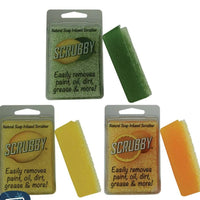 SCRUBBY SOAP GREEN