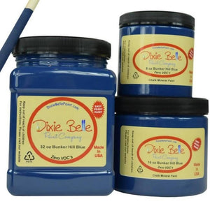 Dixie Belle Paint BUNKER HILL BLUE 16 oz