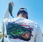 Largemouth Bass Performance Long Sleeve Shirt