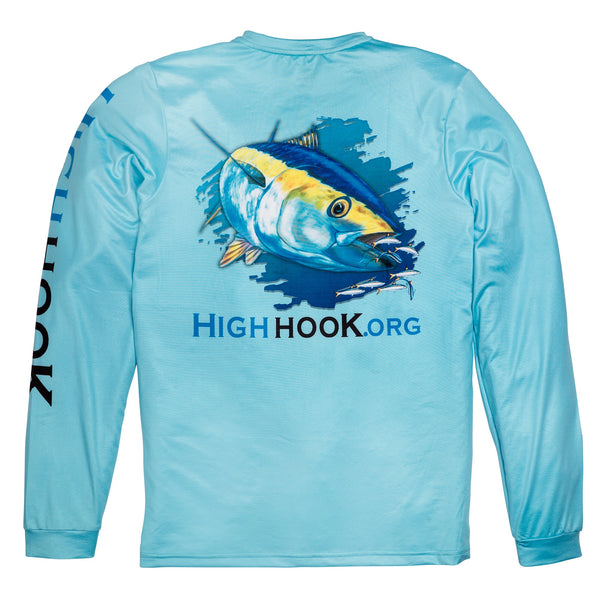 "HighHook ""Tuna"" moisture wicking long-sleeve shirt."