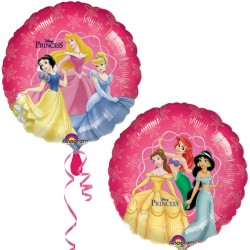 Foil Round Disney Princesses Balloon | 18""