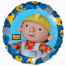 Foil Round Bob The Builder Balloon | 18""