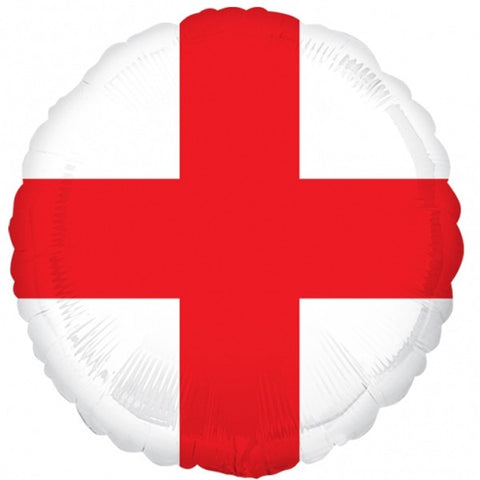 Foil Round St George Cross |18""
