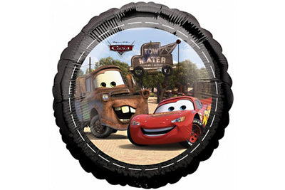 Foil Round Disney Cars Lightening McQueen & Mater Balloon | 18""