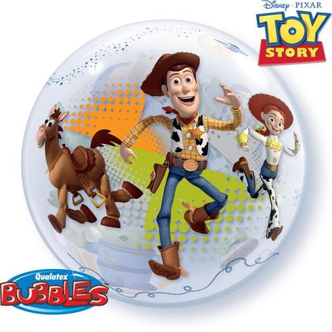 Bubble Disney Toy Story Woody & Buzz Balloon | 22""