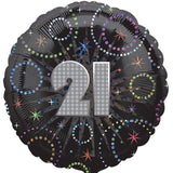 Foil Round A Time To Party Birthday Balloon | 18""