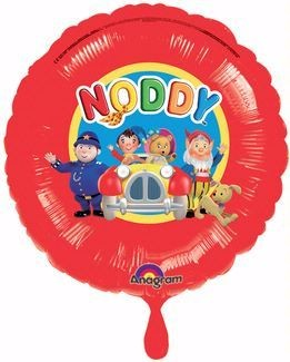 Foil Round Noddy Car Balloon | 18""