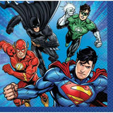 Justice League Napkins | Pack of 16