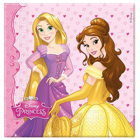 Disney Princess Napkins | Pack of 20