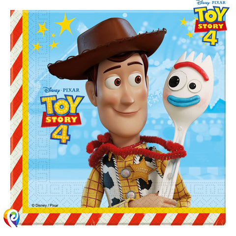 Toy Story 4 Napkins | Pack of 20