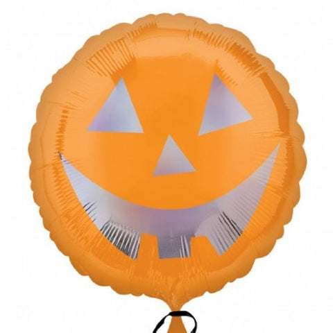 Foil Round Pumpkin Sheen Balloon | 18""