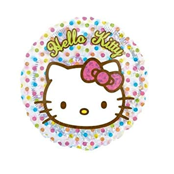 Foil Round Hello Kitty Clear Balloon | 18""