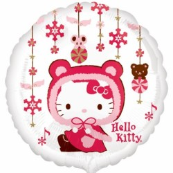 Foil Round Hello Kitty Balloon | 18""