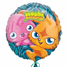Click & Collect Foil Round Moshi Monsters Balloon | 18""