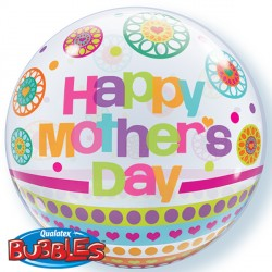 Bubble Mother's Day Dots Patterns Balloon | 22""