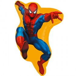 Foil Shape Marvel Spiderman Balloon 23""