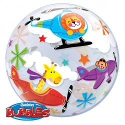 Bubble Message Flying Circus Balloon | 22""