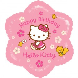 Foil Flower Hello Kitty Balloon | 18""