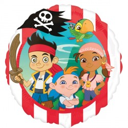 Foil Round Disney Jake and the Never Land Pirates Balloon | 18""