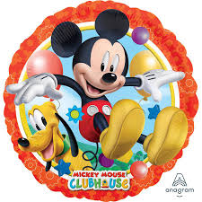Foil Round Disney Mickey Mouse Clubhouse Balloon | 18""