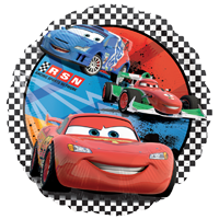 Foil Round Disney Cars RSN Balloon | 18""