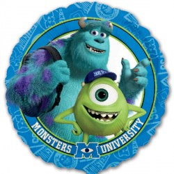 Foil Round Disney Monsters Inc Balloon | 18""