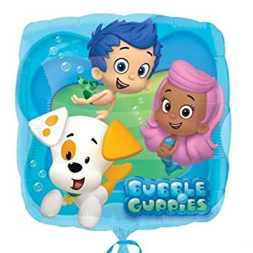 Foil Square Bubble Guppies Balloon | 18""