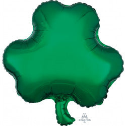 Foil Shape Shamrock St Patrick's Day Balloon S40 | 18""