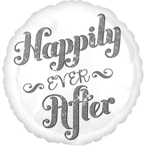 Silver Happily Ever After Foil | 18""
