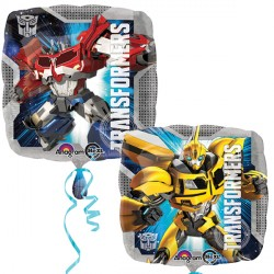 Foil Square Transformers Balloon | 18""