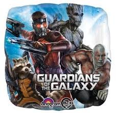 Foil Square Marvel Guardians of the Galaxy Balloon | 18""