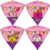 Diamondz Little Miss Balloon | 17""