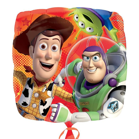 Foil Square Disney Toy Story Woody & Buzz Balloon | 18""