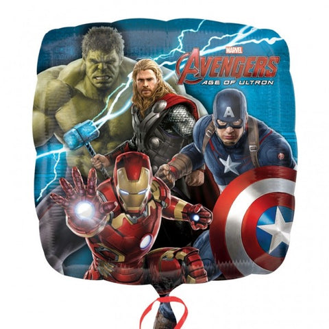 Foil Square Marvel Avengers Balloon | 18""