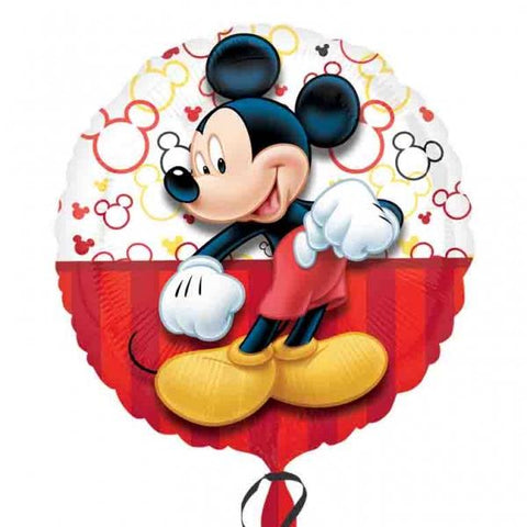 Foil Round Disney Mickey Mouse Balloon | 18""