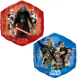 Foil Shape Disney Star Wars Good vs Bad P38 | 23""