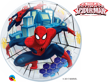 Bubble Marvel Spider-Man Balloon | 22""