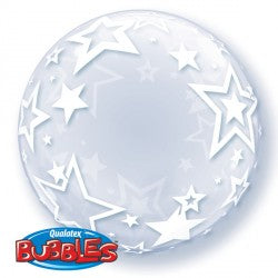 Bubble Deco Stylish Stars Balloon | 24""