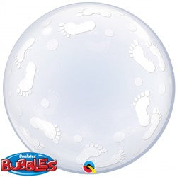 Bubble Deco Baby Footprints Balloon | 24""