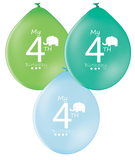 Latex Preprinted 4th Balloons | 10""