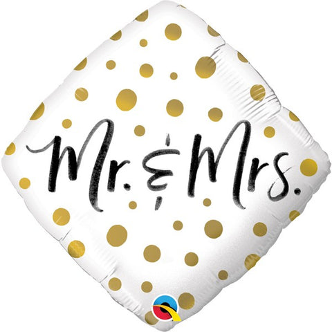 Mr & Mrs Foil Balloon | 18""