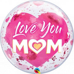 Bubble Love You Mum Mother's Day Balloon | 22""