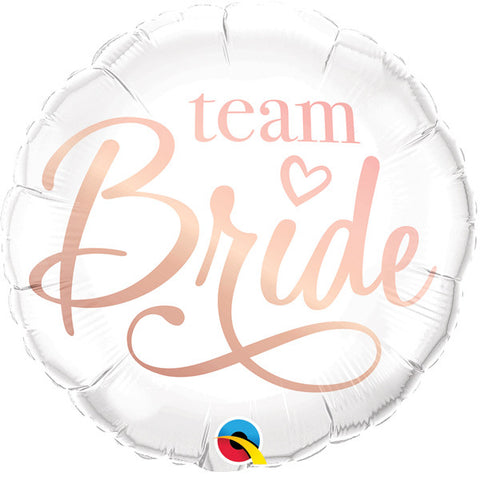 Team Bride Foil Balloon | 18""