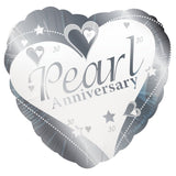 Foil Anniversary Message Balloon
