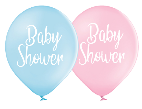 Latex Preprinted Baby Shower Balloons | 12""