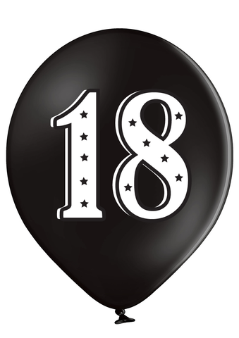 Latex Preprinted 18  Balloons | 12""